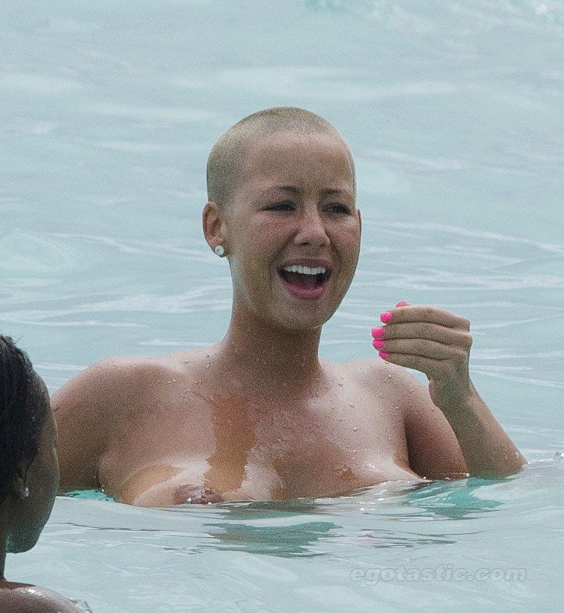 Black celebrities nude beach with