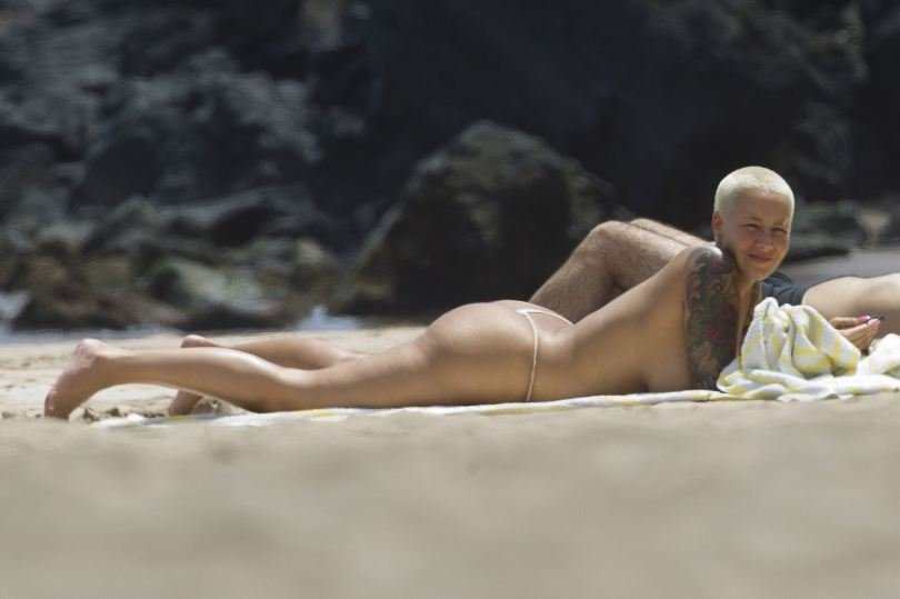 Amber Rose leaked nude