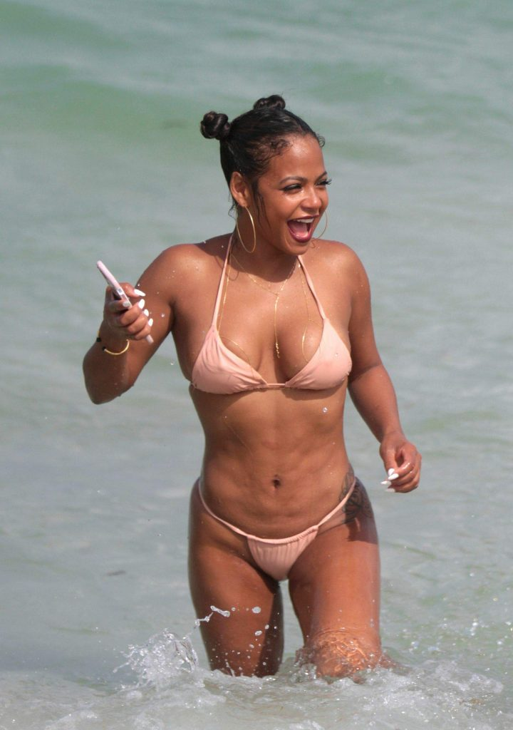 Opinion you Christina milian naked breasts something also