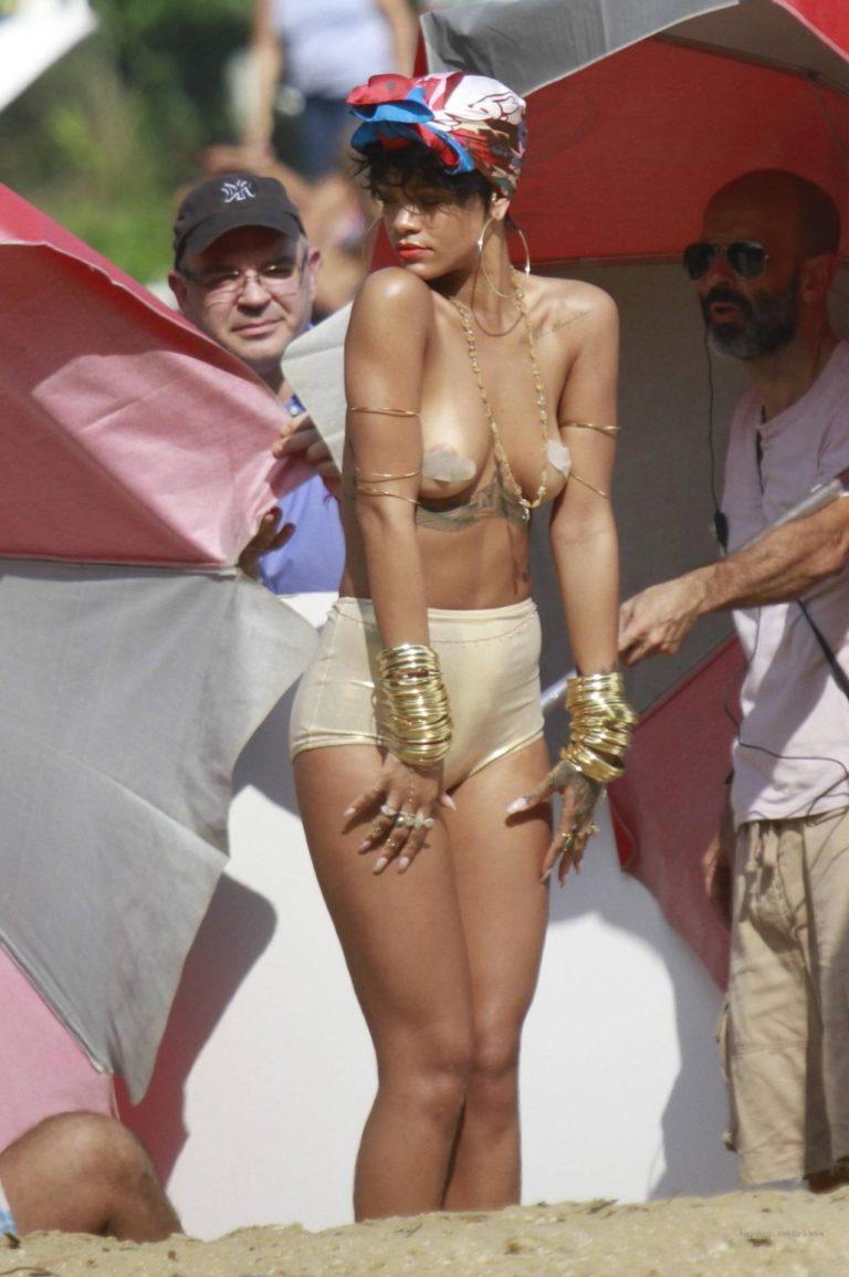 Rihanna photoshoot