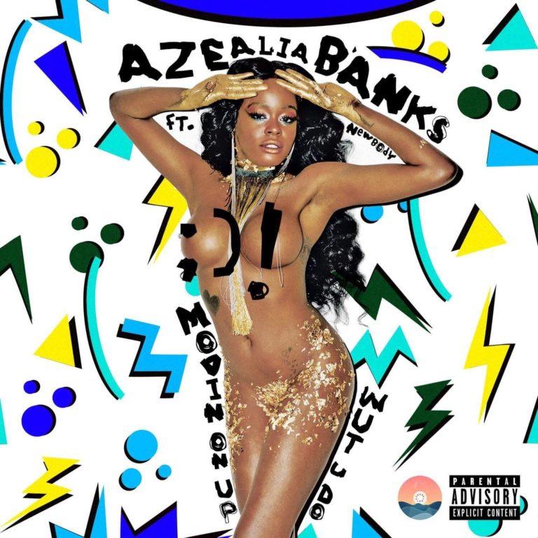 Azealia Banks Album Cover fake breasts