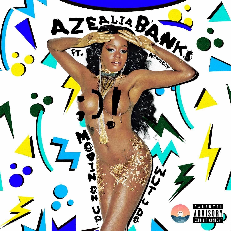Azealia Banks boobs show