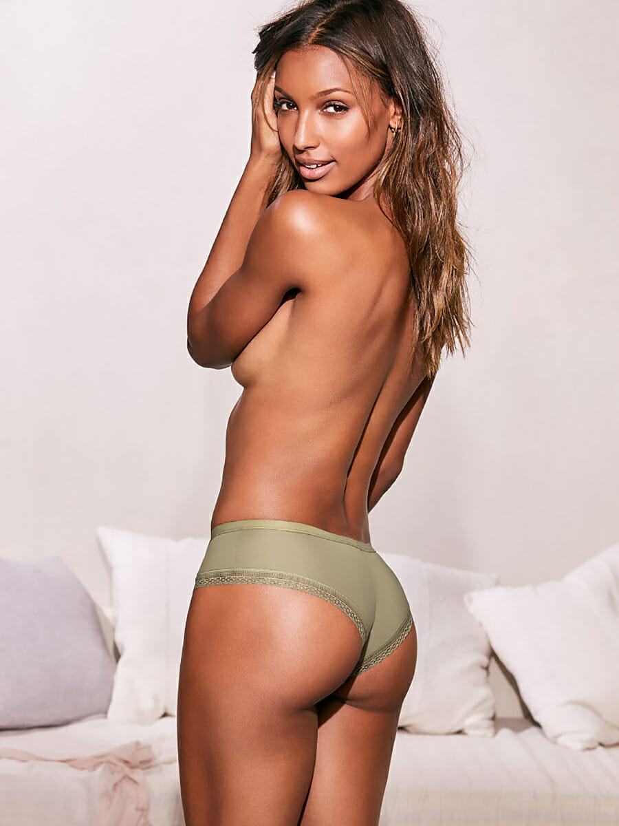 Jasmine Tookes Victoria's Secret underwear photo