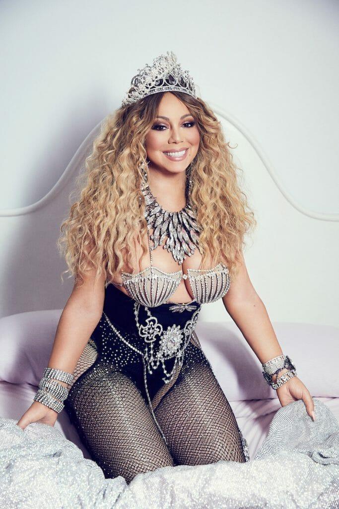 Mariah Carey doggy style
