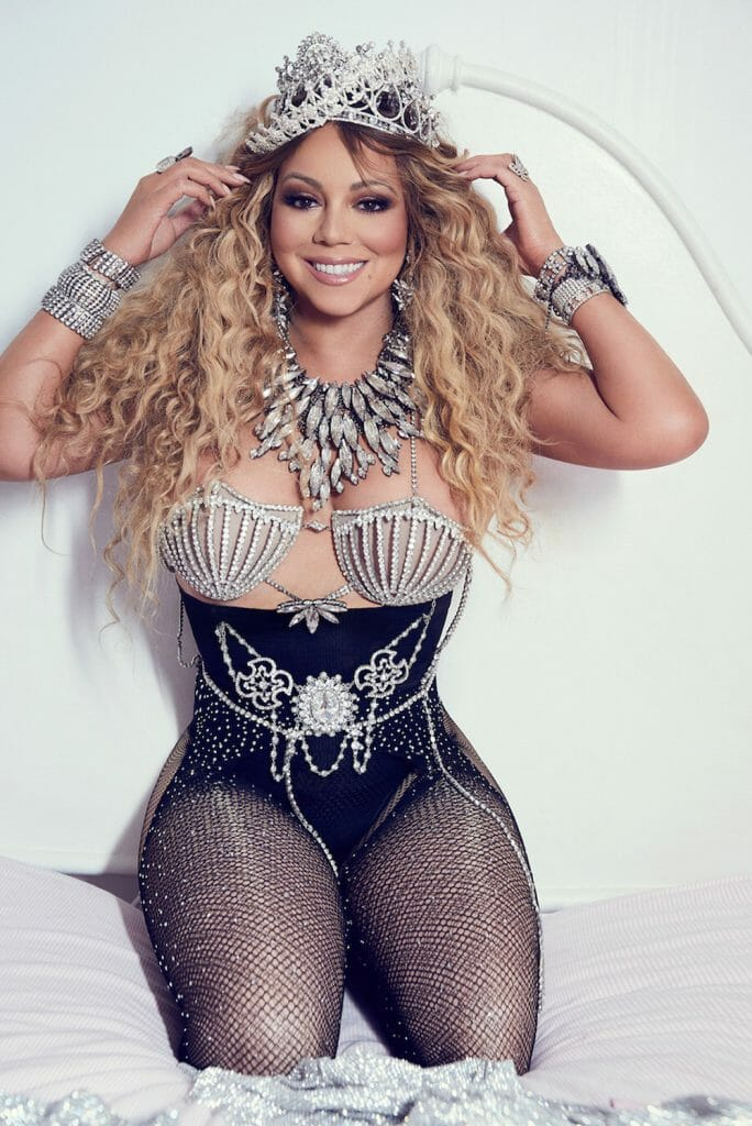 Mariah Carey photoshoot