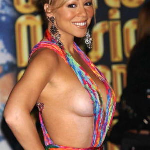 Mariah Carey sideboob